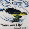 Turtle Tshirt Save the Turtles, Bali